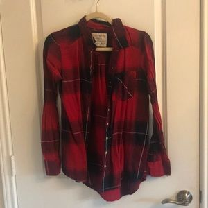 Tops - Red small flannel